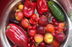 lavare frutta e verdura