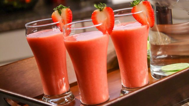 smoothie fragola e kiwi