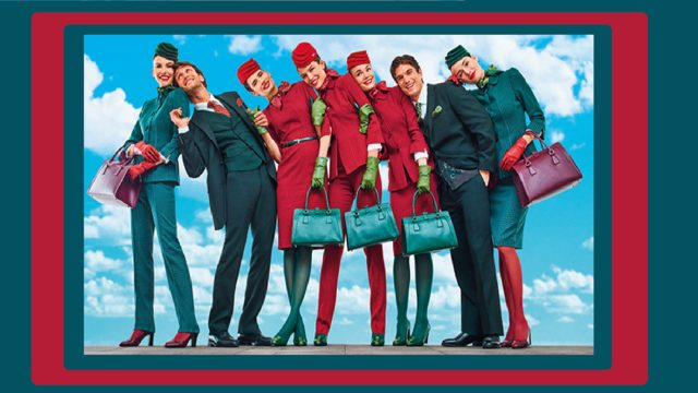 hostess alitalia