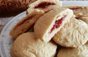 biscotti ripieni di marmellata-2