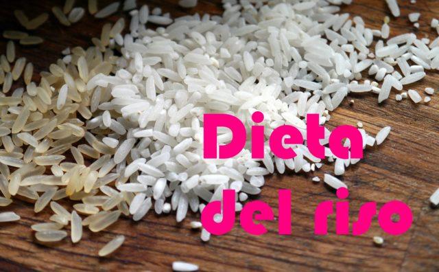dieta del riso funziona