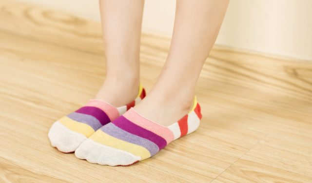 usare le scarpe