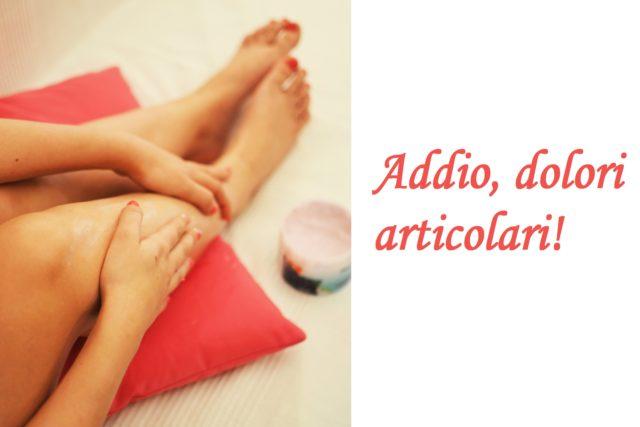 eliminare i dolori articolari
