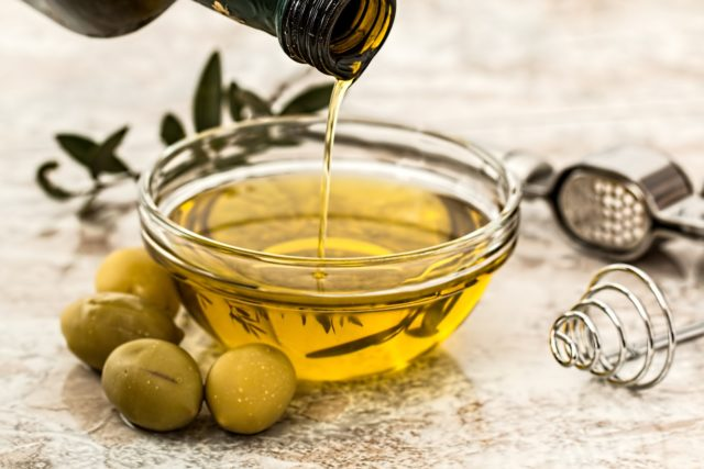 olio d'oliva falso