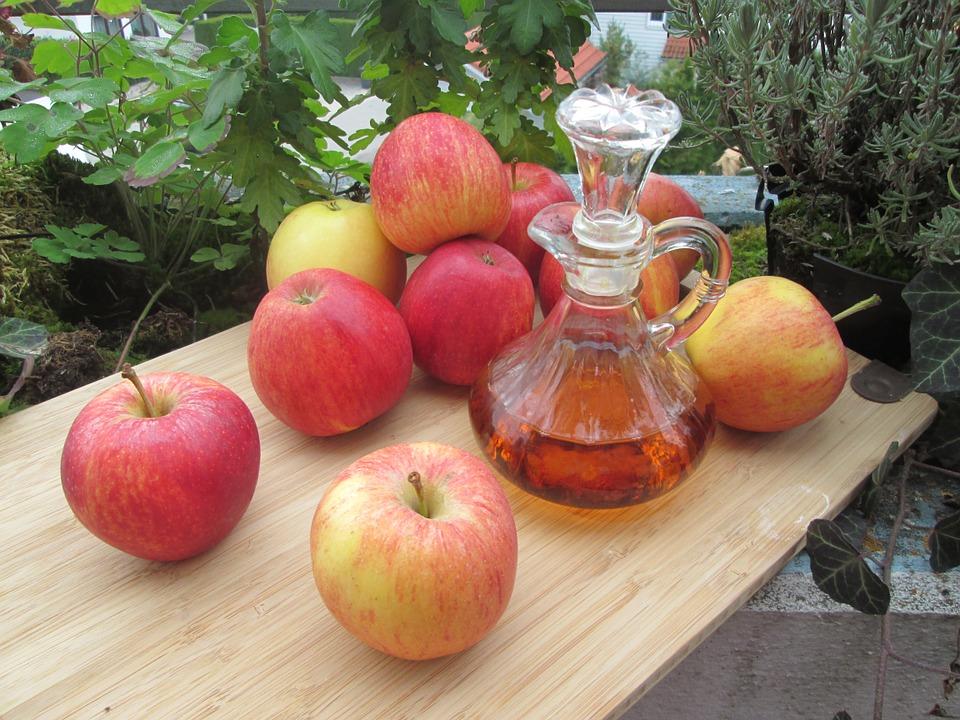 non usare l'aceto di mele