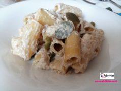 pasta con panna tonno e olive verdi