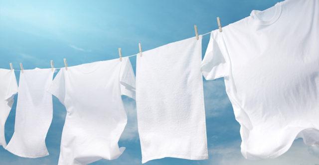 bucato bianchissimo senza candeggina