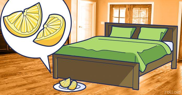 5 motivi per cui ogni sera dovresti mettere una fetta di limone vicino al letto - Culla vicino al letto ...