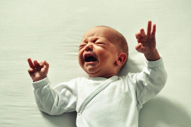 litigi davanti ai neonati