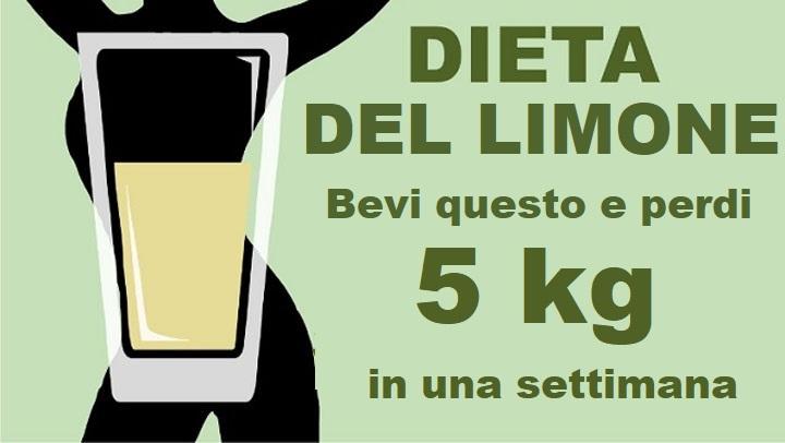 perdere 5 chili in 1 settimana di dieta