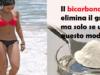 Il bicarbonato elimina il grasso da pancia, cosce e schiena