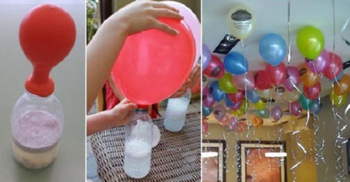 Il trucco per gonfiare i palloncini senza usare l 39 elio non spendere soldi hai gi tutto in casa - Acquistare immobili senza soldi ...