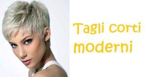 tagli di capelli corti moderni