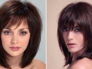 capelli corti per donne con il viso tondo
