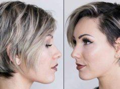 capelli corti per donne di 40 anni