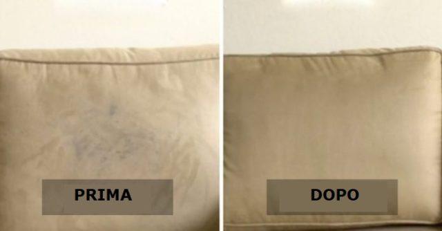pulire il tuo divano
