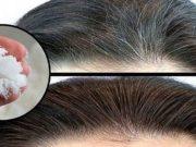 caduta dei capelli con il bicarbonato