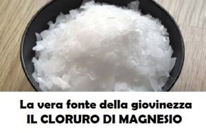acqua e cloruro di magnesio