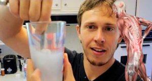 bicchiere di magnesio