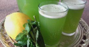 succo di limone e menta