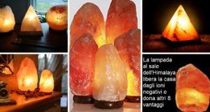 lampada al sale dell'Himalaya