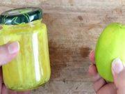 sciroppo di scorza di limone